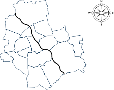 Warsaw and surroundings